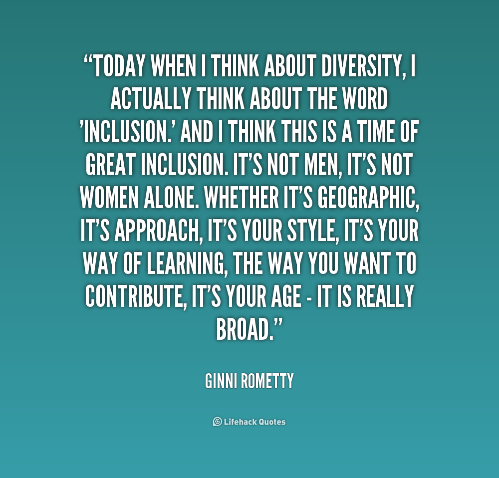 Diversity And Inclusion Quotes Gorgeous Pinmelinda Edwards On Bible School  Pinterest
