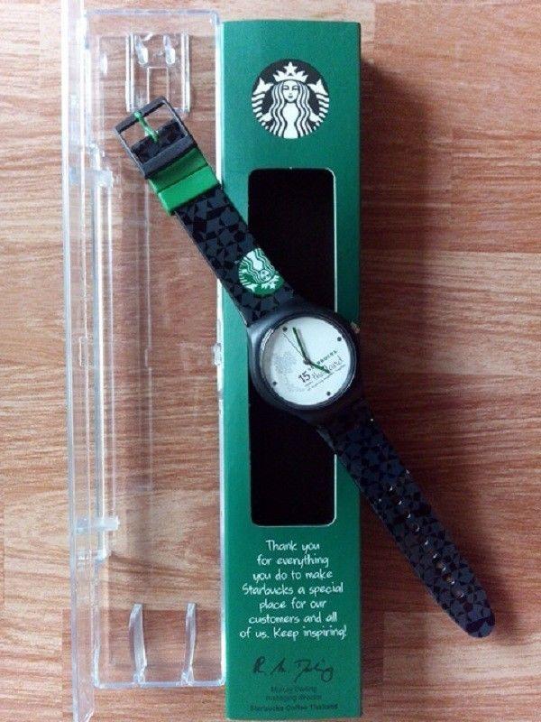 Starbucks coffee clock/watch 15 anniversary Thailand