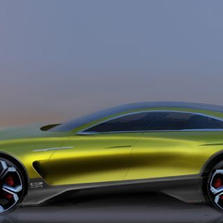 51D3 2018 #side#sideview#carside#cardesign#cardesignsketch#cardesignconcept#cardesigncommunity#sketch#concept#carsketch#auto#autodesign#automotive#yellow#proportion #carproportion#coupé#digitalsketch#photoshop#design