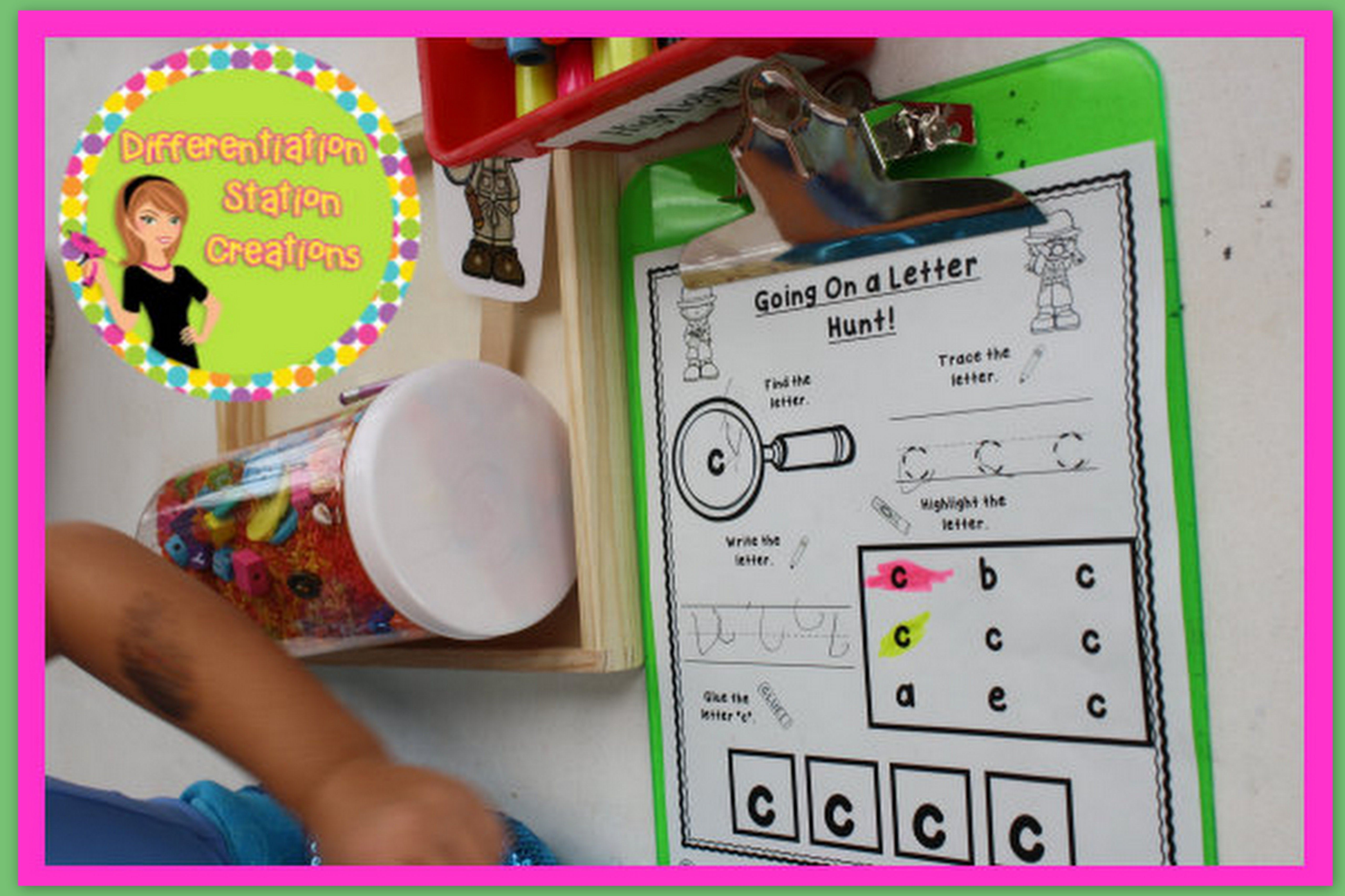 Bundle Going On A Letter Hunt Scavenger Hunts Any Text Upper And Lowercase