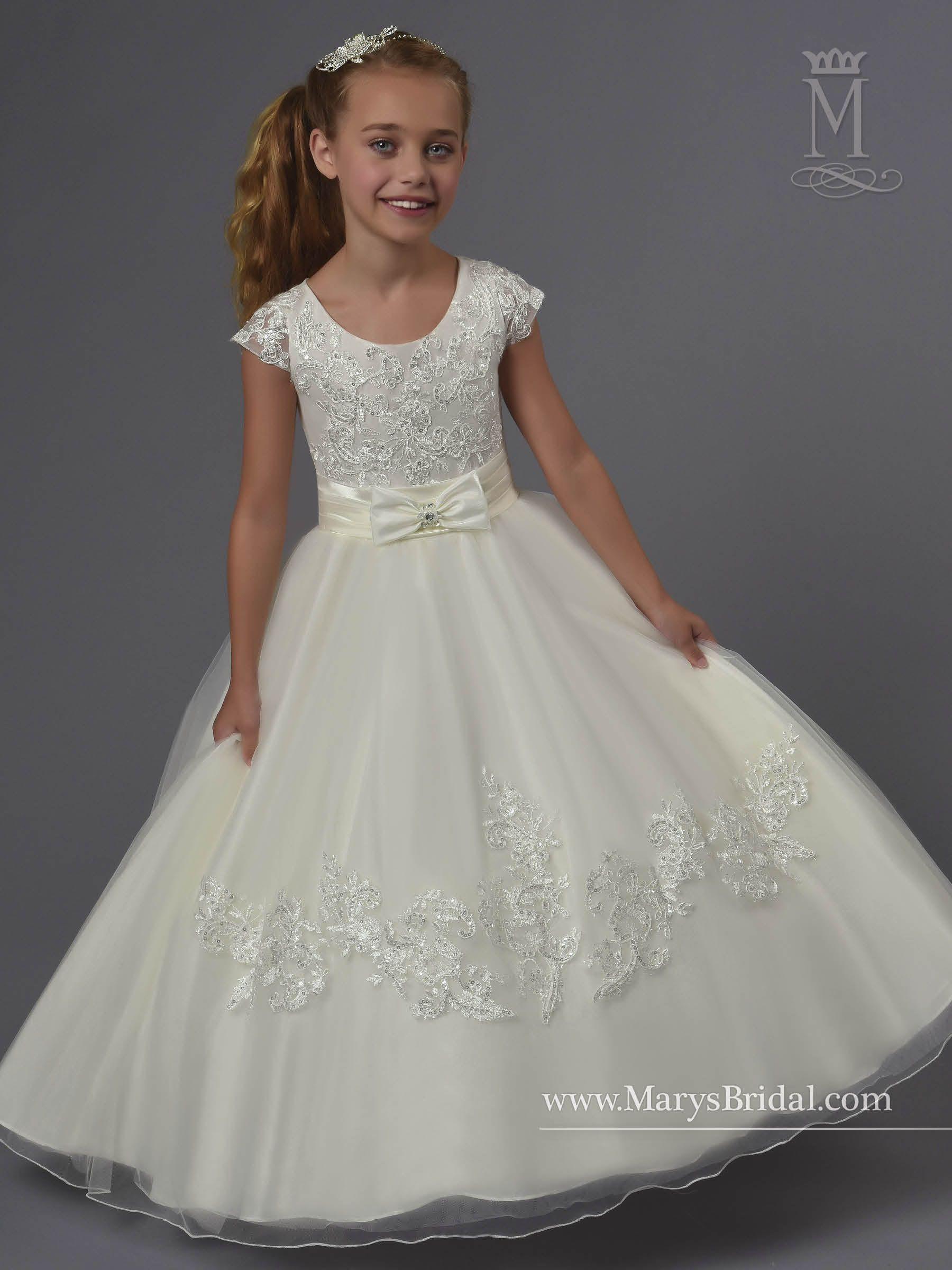 975684e3929e1 Mary's style ID F551 | Vestidos de primera comunión | Flower girl ...