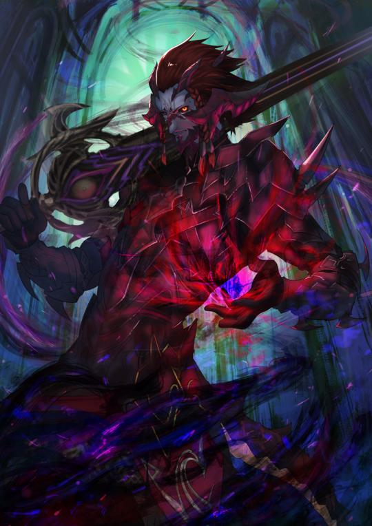 Jeu vidéo : Final Fantasy XIV / Dark Knight by MFTs / まだまだシャキ