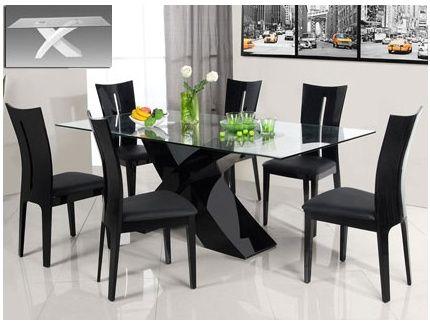 Mesas modernas para comedor mi casa pinterest mesa for Quiero ver comedores