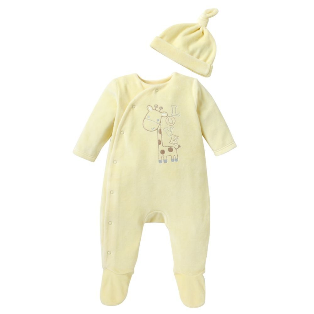 Mothercare Unisex All In One And Hat - Lemon - baby unisex - newborn ...
