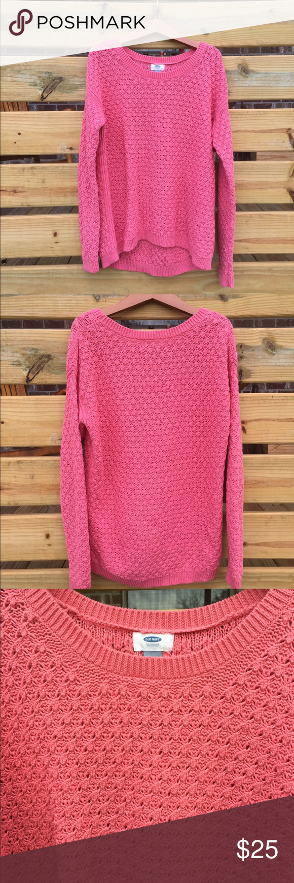 Beautiful Coral Sweater | Old Navy | Coral sweater, Navy colour ...
