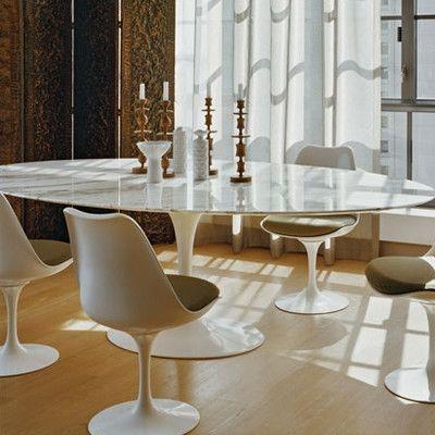 Knoll Saarinen 96 Round Dining Table Allmodern Oval Table Dining Saarinen Dining Table Knoll Saarinen Table