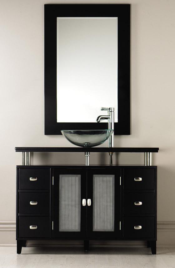17 Wide Bathroom Vanity: - Moderna Wide Bath Vanity