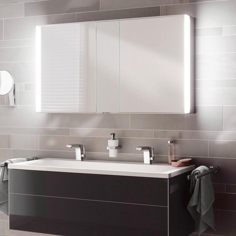 Keuco ROYAL MATCH Spiegelschrank mit LED-Beleuchtung Bad - led licht für badezimmer