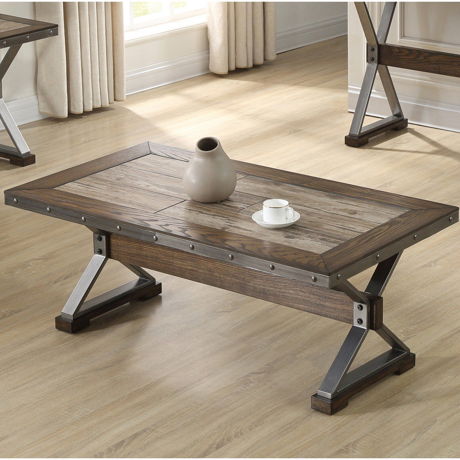 Williston Forge Locksley Coffee Table In 2020 Welding Table