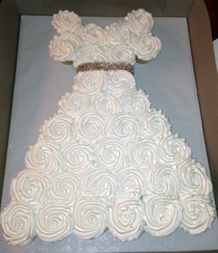 Wedding Dress Cupcakes Bridal Shower Cupcakes 430x498
