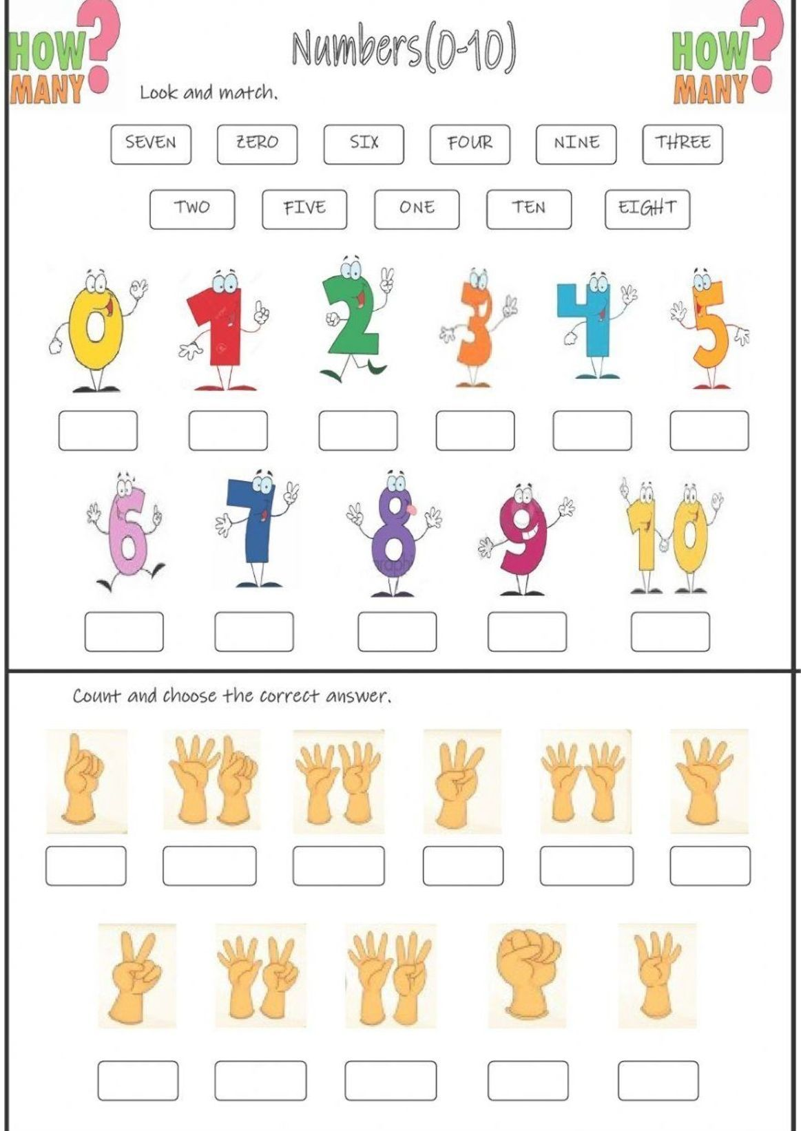 Numbers Interactive And Downloadable Worksheet You Can Do