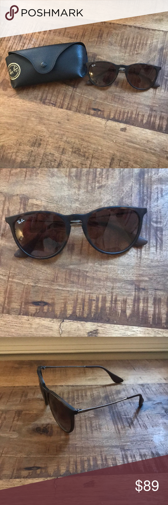 110bce334b0 ERIKA Classic in tortoise  Authentic  Tortoise frame with dark rubber  temple tips