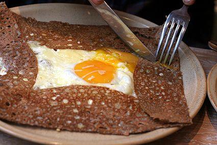 Breizh Café buckwheat crêpes in Paris