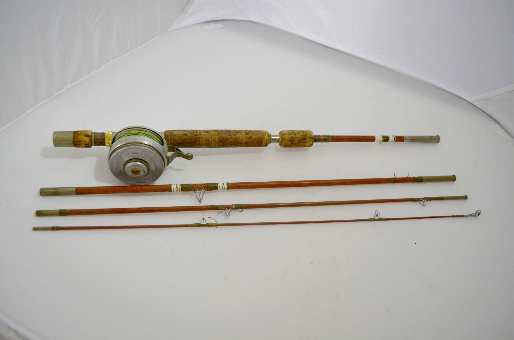 Wright Mcgill Trailmaster 7 1 2 Ft No 4tmu Fly Rod With Shakespeare Automatic Reel No 1845 Model H C By Djsvintagecache Fly Rods Wright Oldies But Goodies