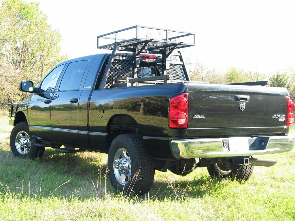 Headache rack with roof rack Dodge diesel, Diesel trucks