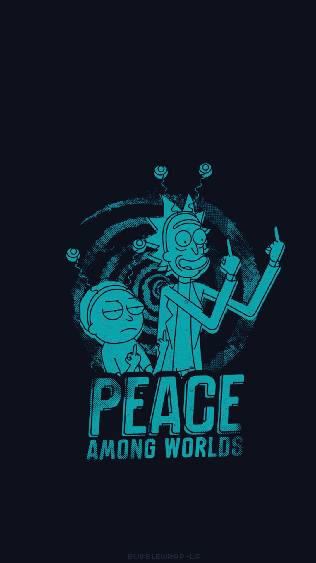 L O C K S C R E E N S Rick And Morty Wallpaper De Desenhos