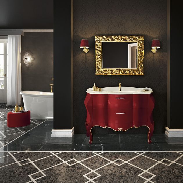 15 Classic Italian Bathroom Vanities for a Chic Style is part of Classic Home Accessories Interior Design - Everyone dreams of having a luxurious bathroom, one that makes the experience of bathing or simply washing your hands, something to look forward to and