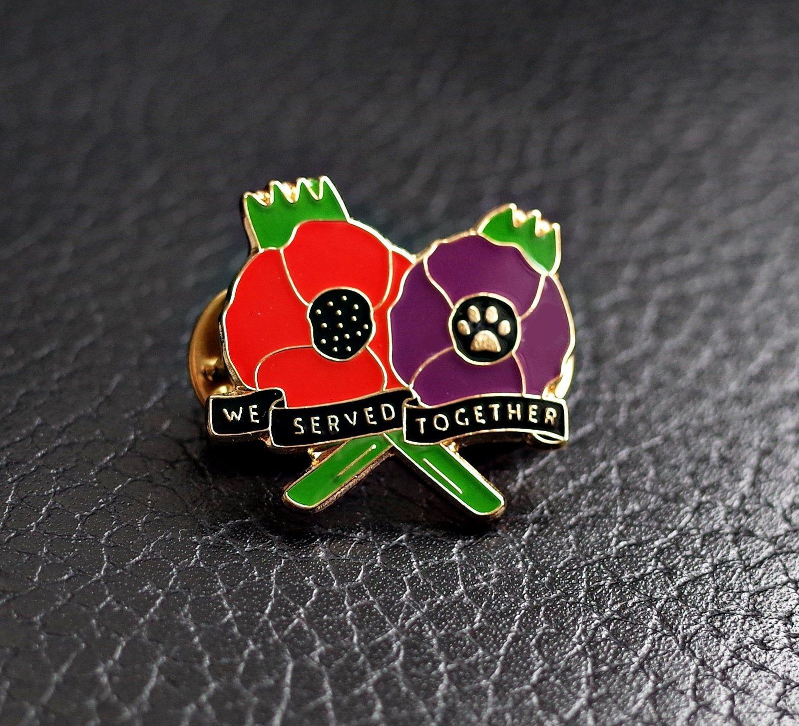 NEW CROSS LAPEL PIN ENAMEL POPPY BADGES 2019 COLLECTION METAL BRITISH US UK ARMY
