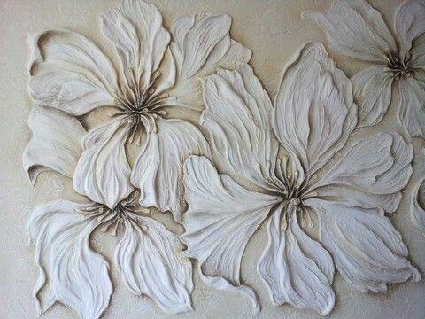 Resultado de imagen para como dar pinceladas para pintar - Cuadros de escayola ...