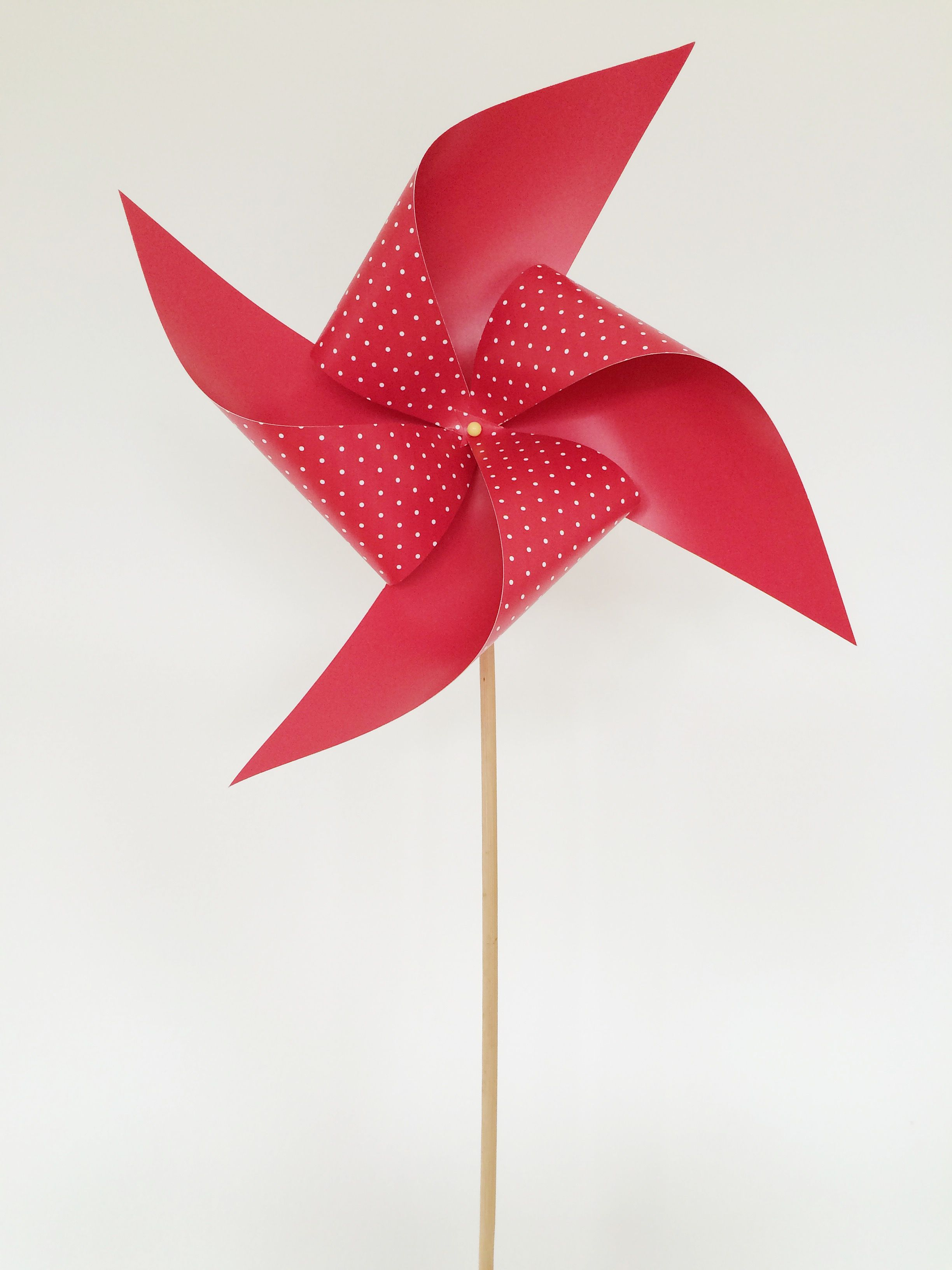 the perfect summer craft  paper windmill