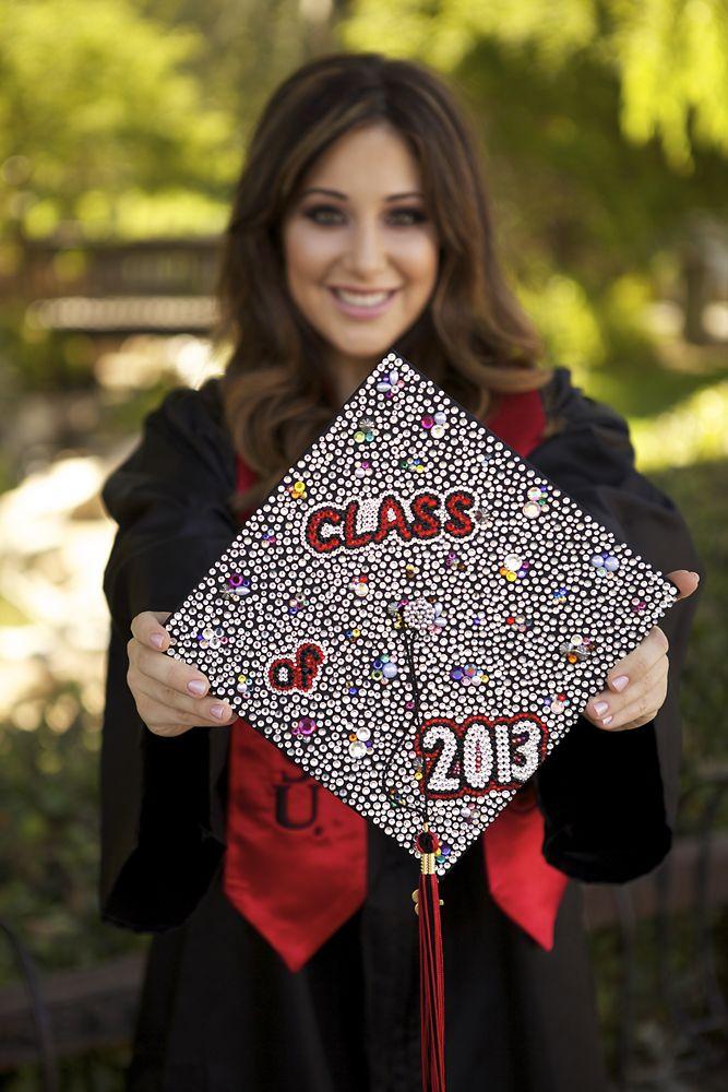 decorate graduation cap | StAte | Graduation cap designs ...