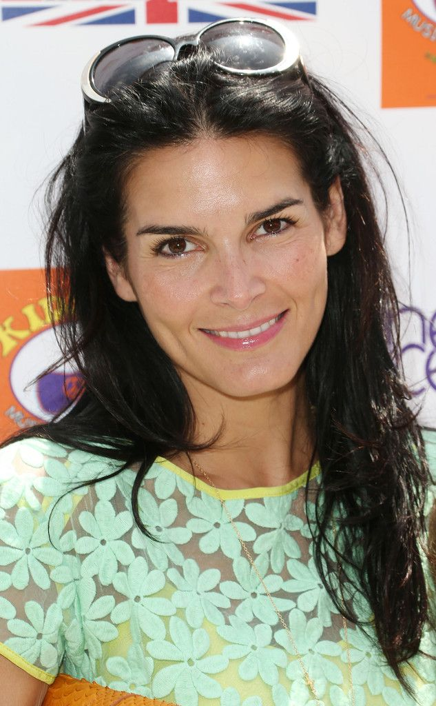 Angie Harmon - 7th Annual Kidstock Music And Art Festival - Arrivals