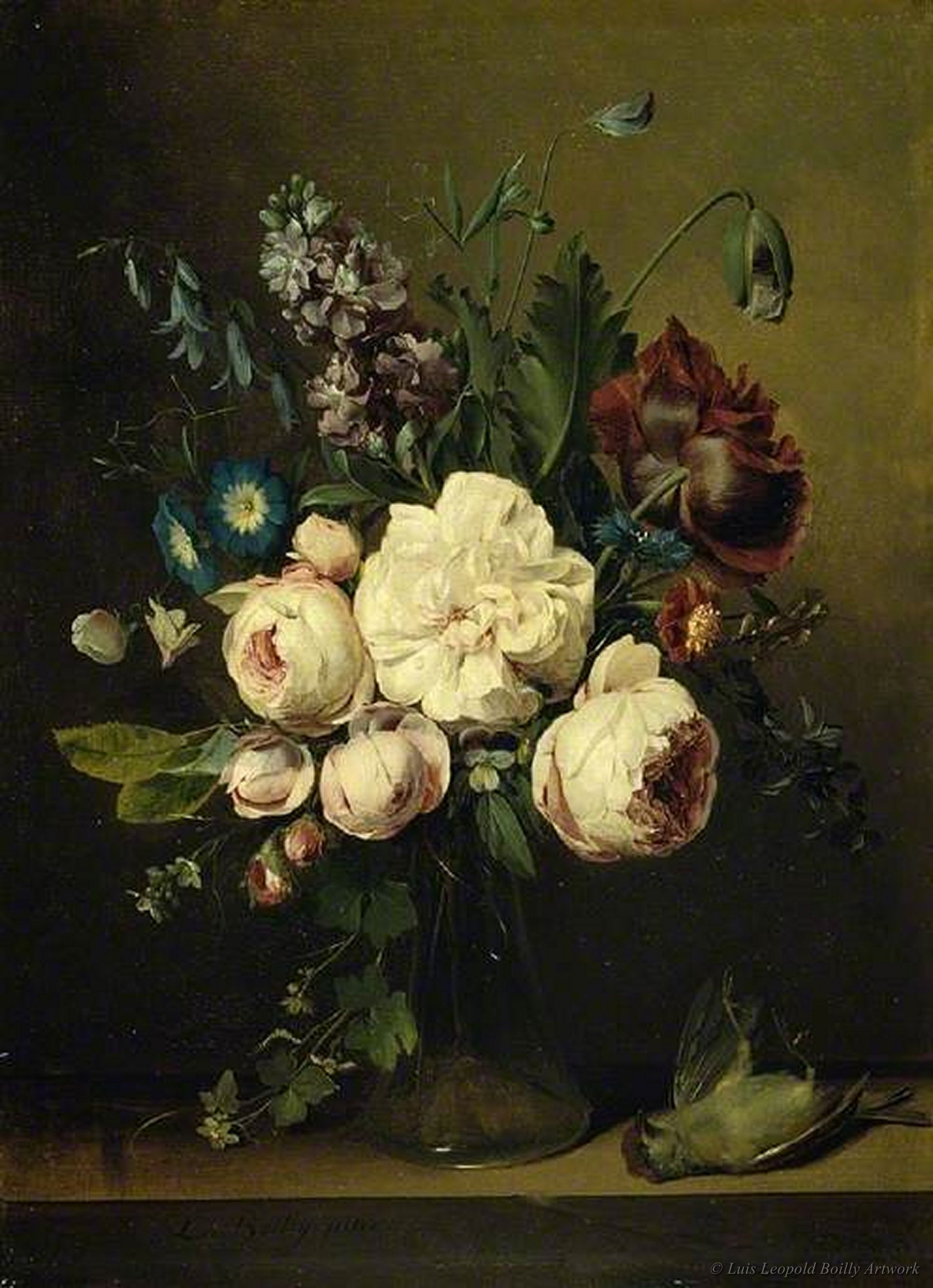 A vase of flowers by louis leopold boilly what artistic eyes a vase of flowers by louis leopold boilly reviewsmspy