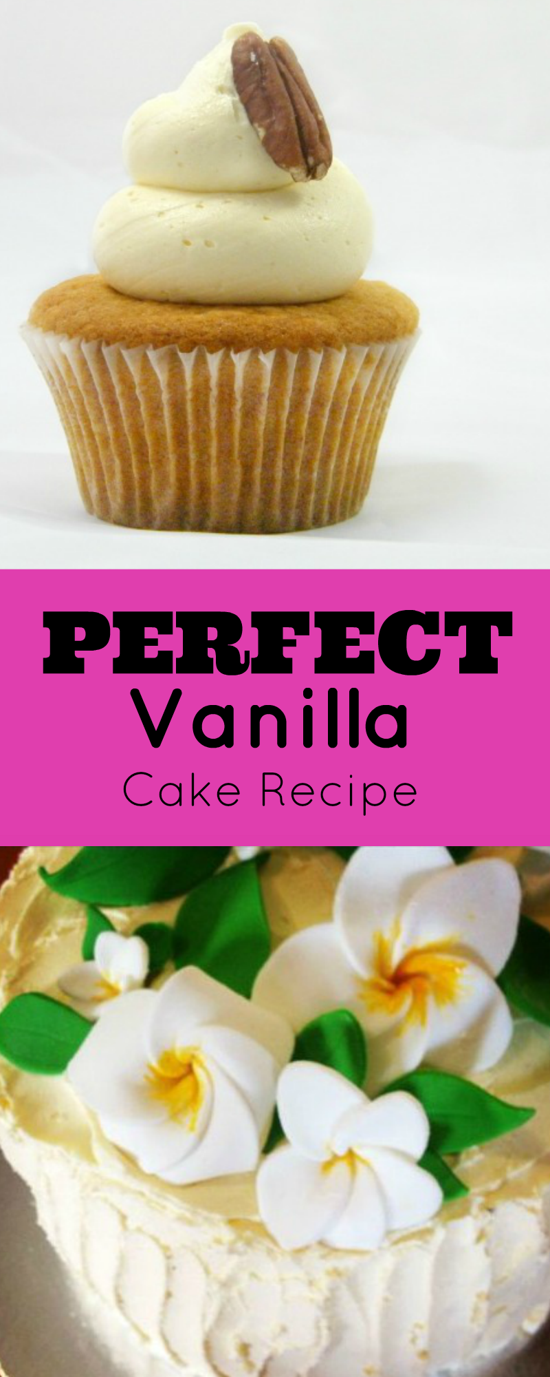 Perfect Vanilla Cake Recipe. For cake decorators, no fail vanilla cake recipe, that is quick and easy, inexpensive, which tastes amazing and customers love.   http://angelfoods.net/vanilla-cake-recipe-for-a-cake-business/