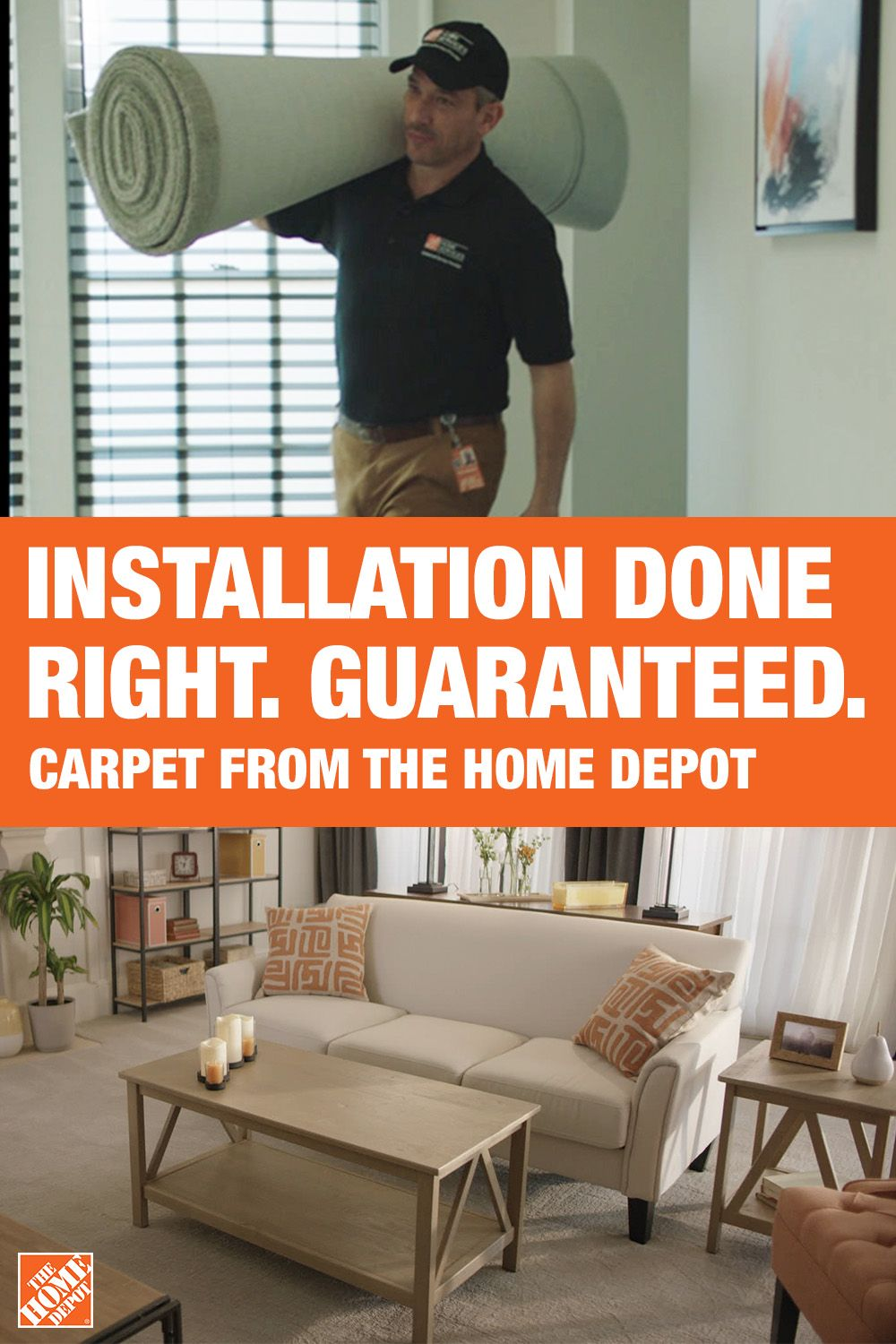 The Home Depot Is The Destination For Carpet Installation Every