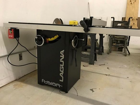 Wesleythe And His Laguna Fusion Tablesaw