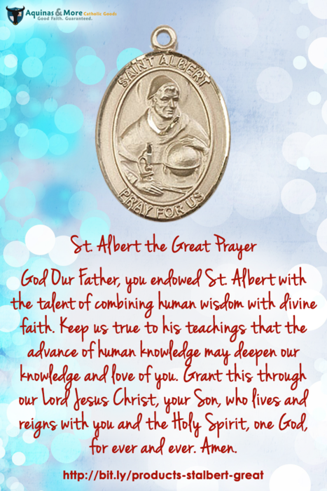 St Alber The Great Prayer God Our Father You Endowed St Albert