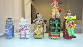 Decorate A Bottle How To Decorate Bottles & Jars  Youtube  How To Decorate Bottles