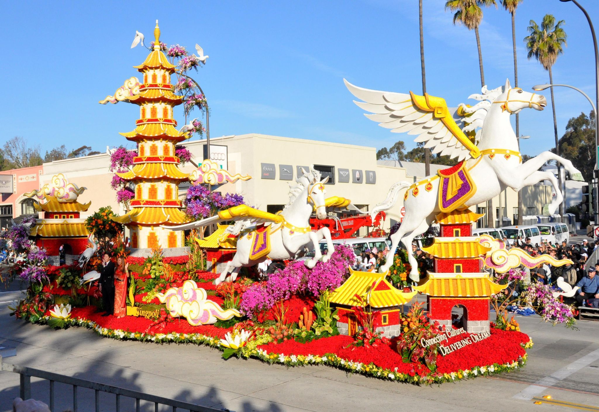 Public Storage Is Making History With Its Rose Parade Float And