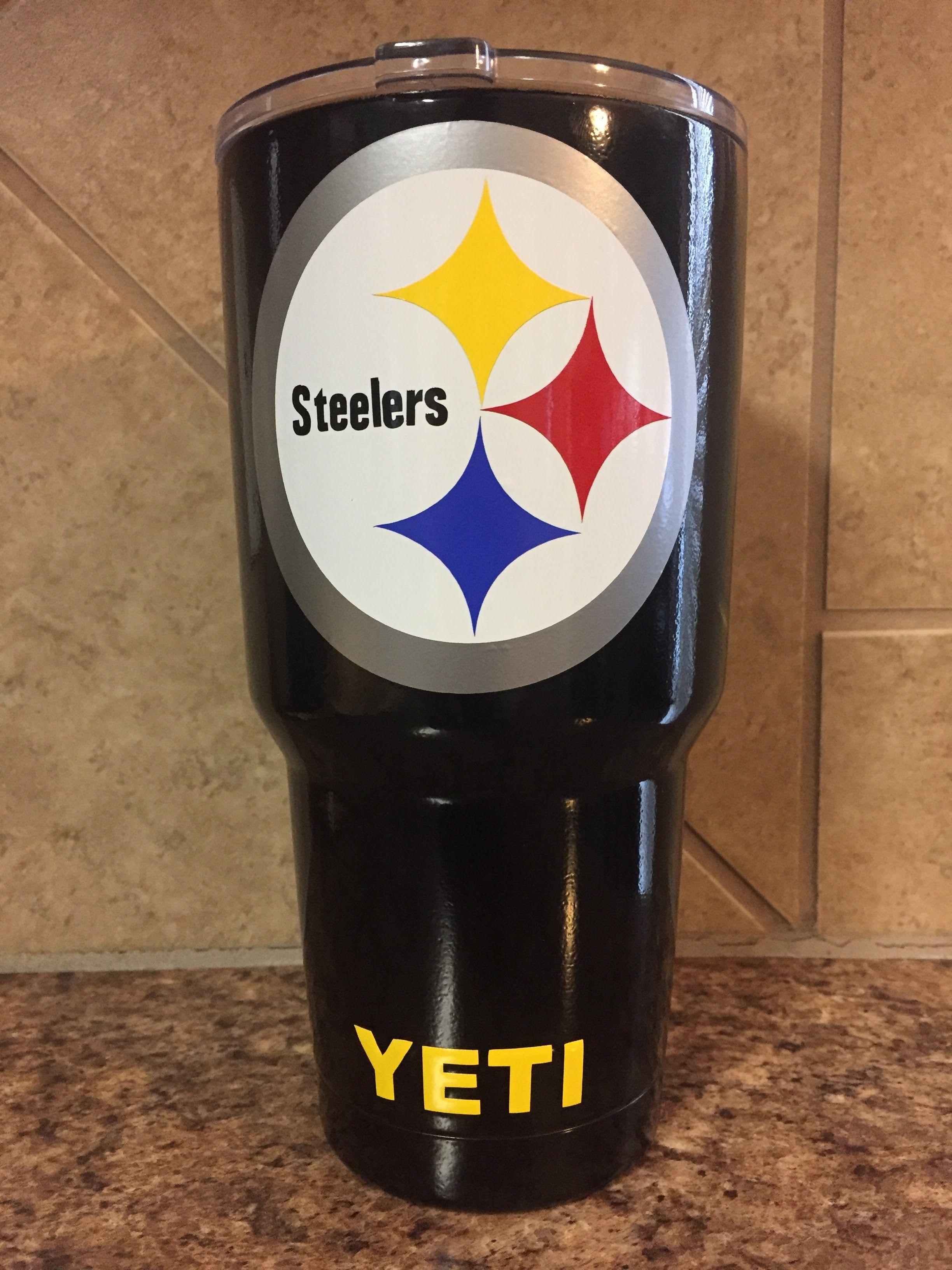 Pittsburgh Steelers Custom Yeti Yeti Rtic Ozark Custom
