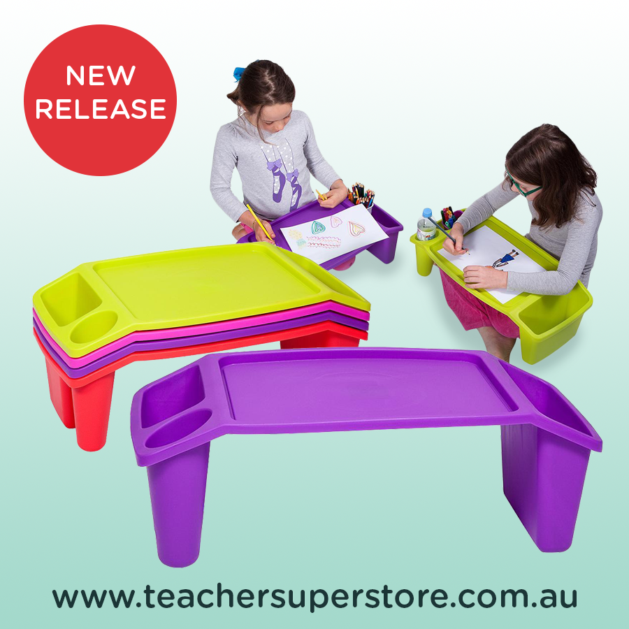 Student Lap Desk These Versatile Lap Tray Desks Are Also Stackable For Quick And Convenient Storage When Not In Us Lap Desk Lap Desk For Kids Classroom Themes