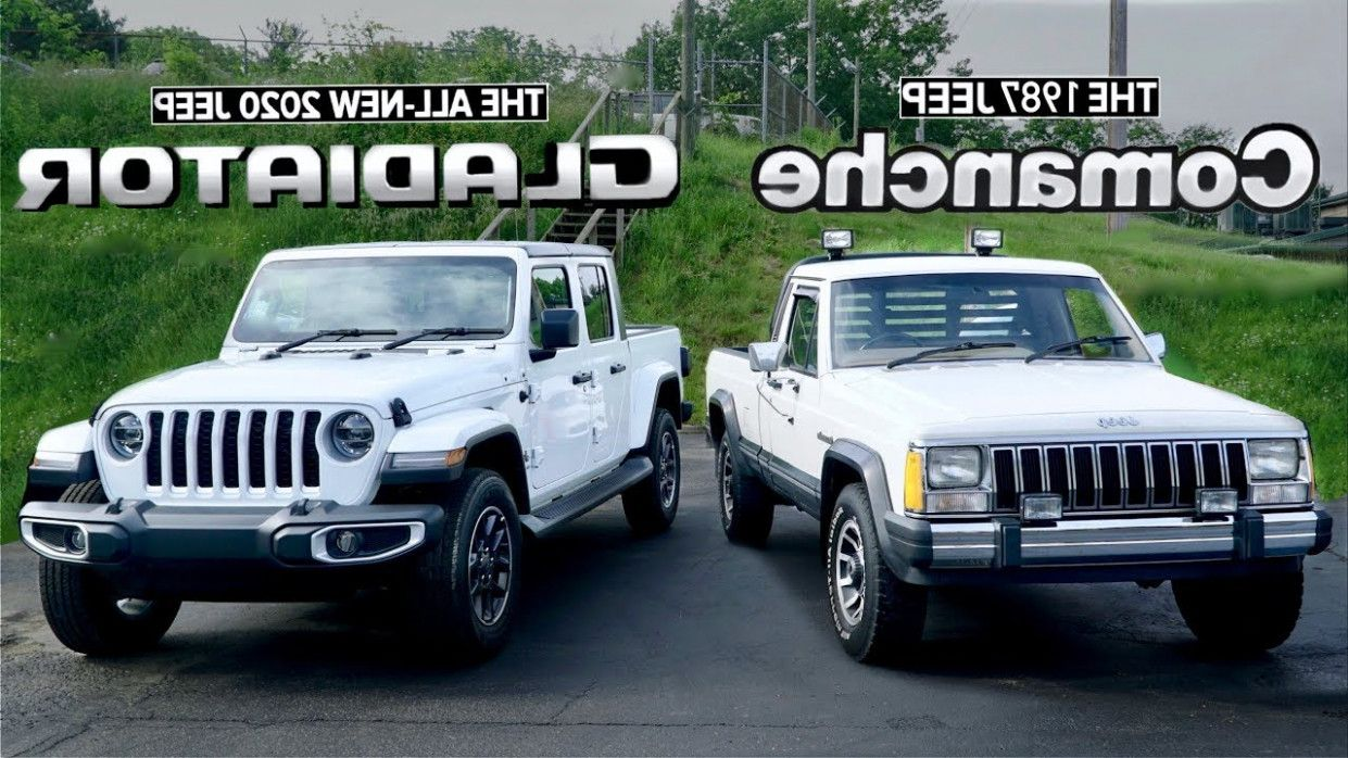 15 Solid Evidences Attending Jeep Comanche 2020 Is Good For Jeep