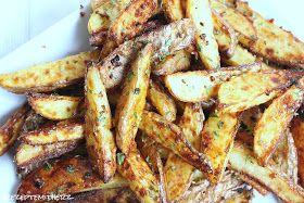 Rezepte mit Herz ♥: Knoblauch - Parmesan - Kartoffel - Spalten