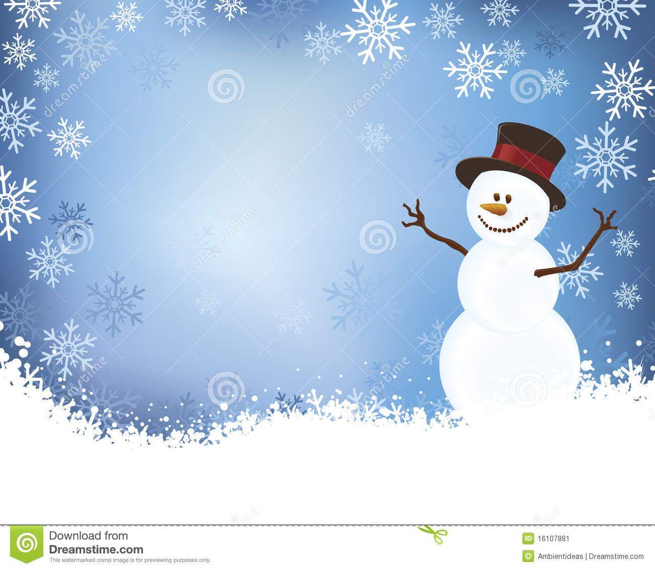 Winter Background Snowman Snow Snowflakes Stock Photos Images Pictures 2 350 Images Winter Background Snowflake Photos Winter Clipart