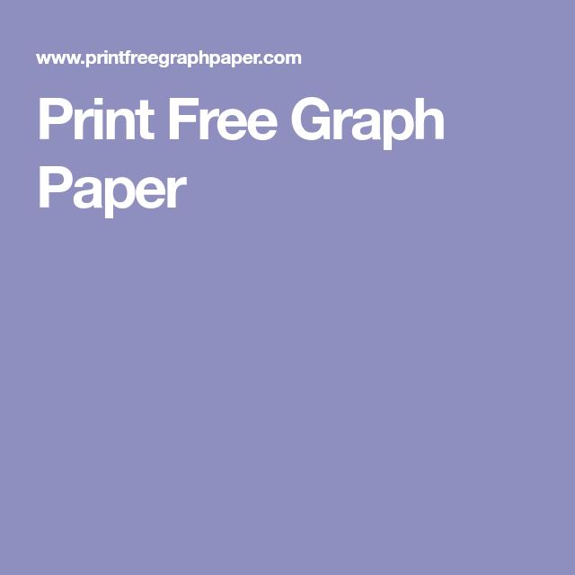 Print Free Graph Paper  Manualidades    Graph Paper