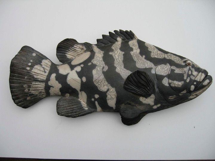 Pin By Pamela On Raku In 2019 Ceramic Fish Clay Fish