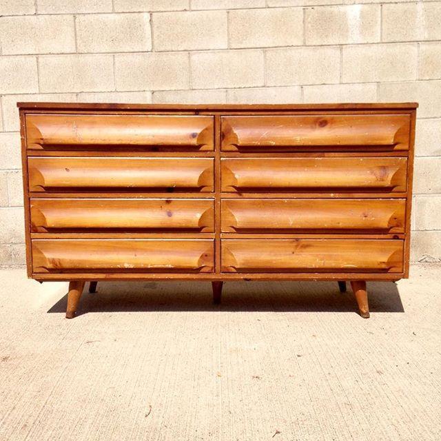Best Mid Century Modern Sculptural 8 Drawer Double Dresser By 640 x 480
