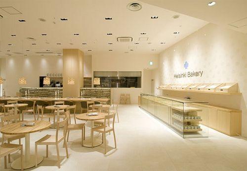 bakery-restaurant-furniture by rorinabila. Love the simplicity...