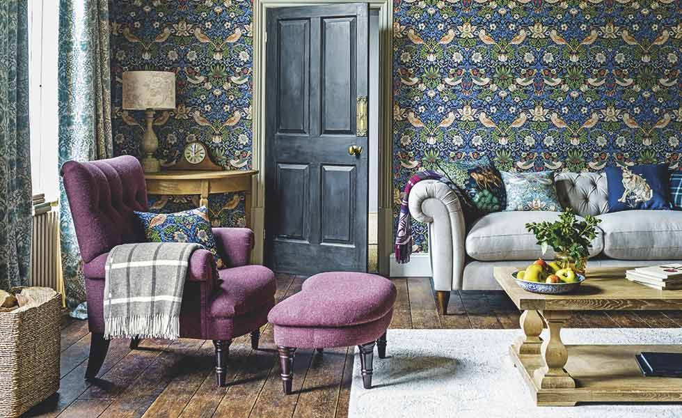 4ad479f7 11 Arts & Crafts design ideas | Seacoast | William morris wallpaper ...