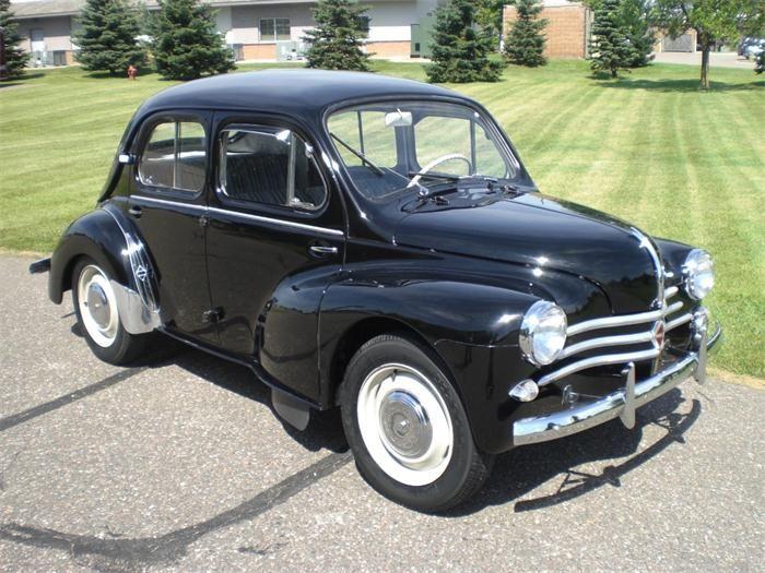 1958 Renault 4cv Renault Voiture Voitures Anciennes