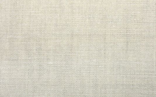 Melzi Fabric A plain woven linen fabric in beige.