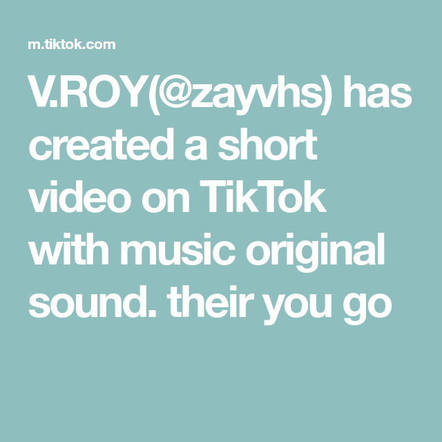 How To Add Your Own Music To A Tiktok Video