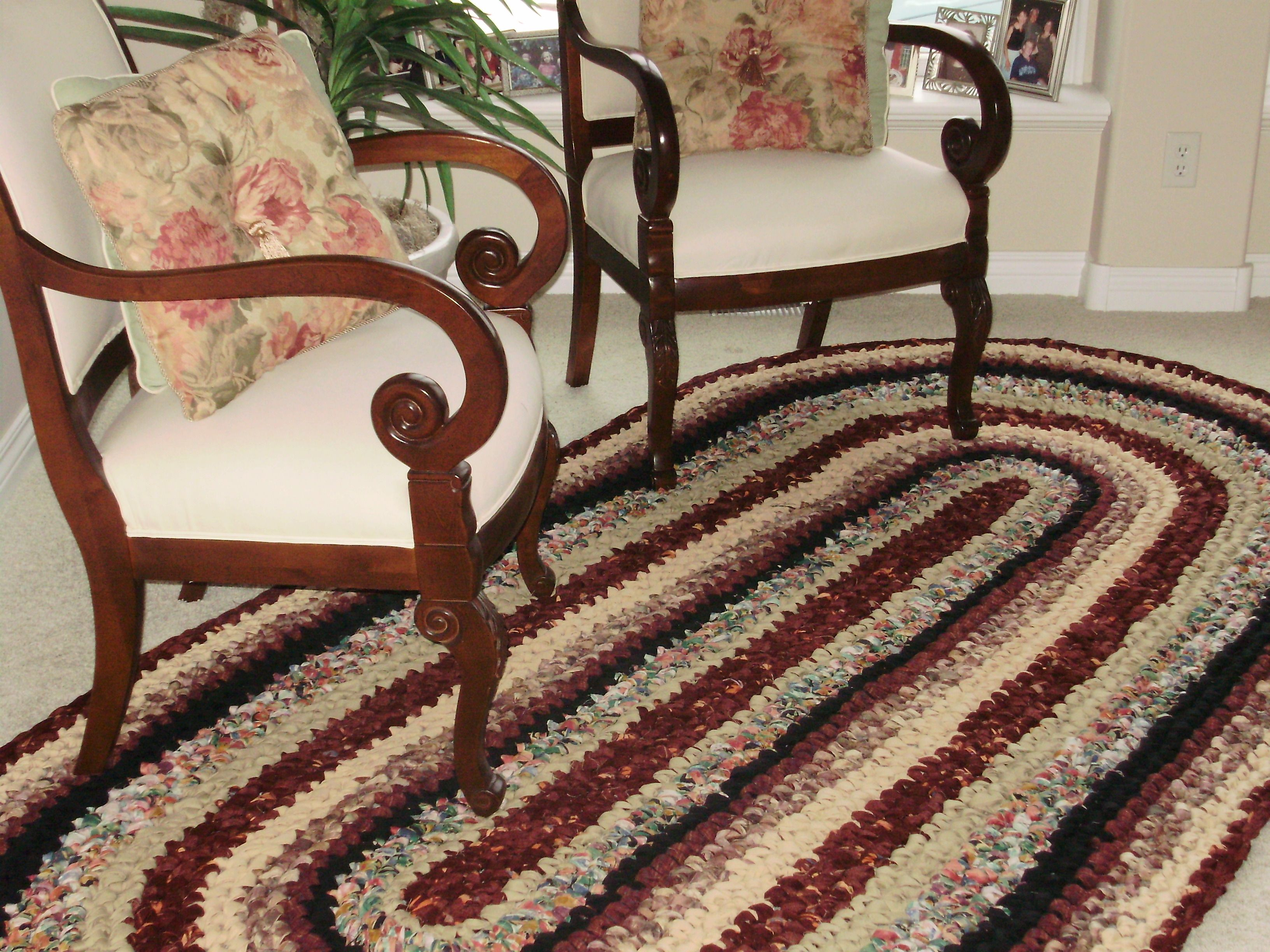 Crocheted rag rug - must have