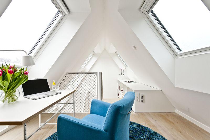 Kleines Arbeitszimmer ~ Spitzboden arbeitszimmer foto: velux dachgeschoss pinterest