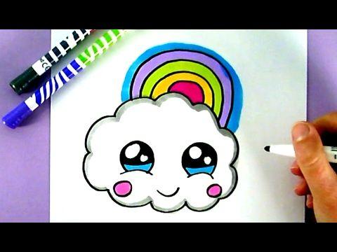 Comment Dessiner Un Petit Nuage Kawaii étape Par étape Youtube Chibi