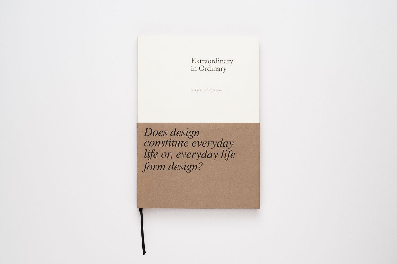 Extraordinary in Ordinary - ACST — Design + Art Direction